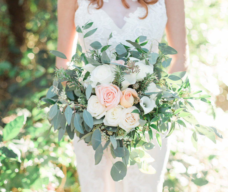 Florida Garden Chic Wedding